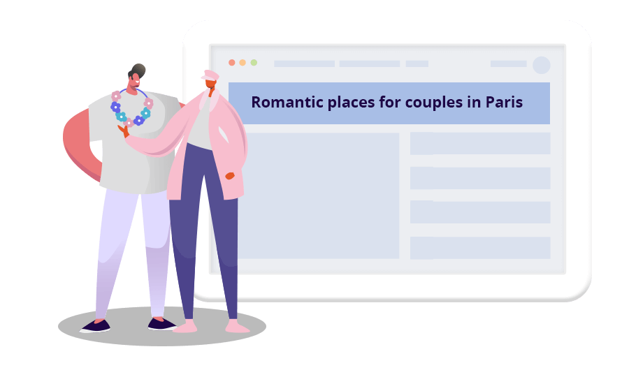 Personalize landing page marketing messages based on personal factors